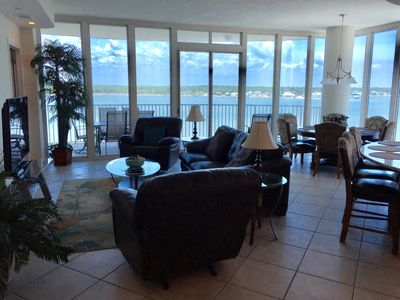 Photo for Beautiful Condo - Lagoon View!   Book Now!   Ask about our Free Fun!