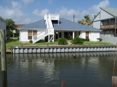 Photo for Beautiful Single Story Canal Front Home in Exclusive Key Allegro