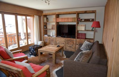 Photo for Nice apartment, near the Sport Center. Composition: • Living room with divan bed, fireplace, TV, W