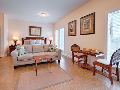 Photo for Luxury Condo With Heated Pool! Walk To Rosemary!