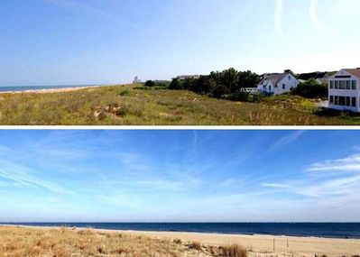Top- Ocean on Left, House on Right. Bottom- Looking NE from 6910 Ocean Front!