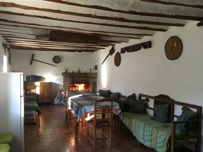 Photo for Andalusian country house restored and decorated with everything that was used in day