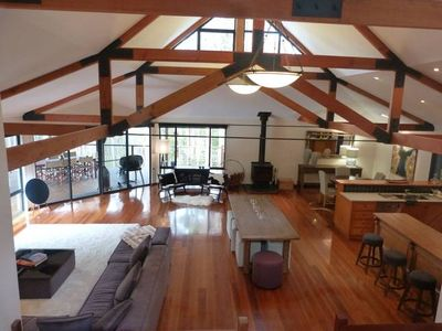 Photo for Calistoga Chalet - Stunning Chalet in the Trees!
