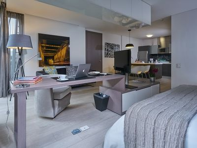 Photo for Luxury Suite w/ City Views, Free WiFi, Spa Service & Fitness Club Access