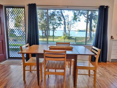 Photo for Perfect home to escape the busy city life and relax by the lake with your family
