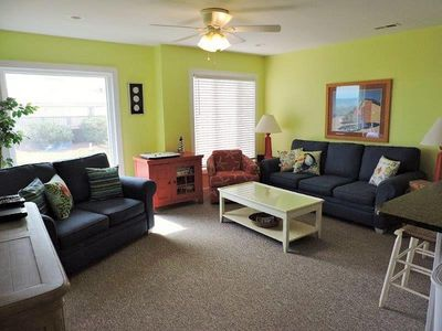 Photo for Oceanfront corner 3 Bedroom 2 Bath first floor condo
