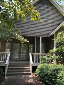 Photo for Spacious wooded retreat steps away from Lake Keowee! Close to Clemson!