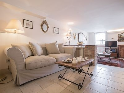 Photo for A DELIGHTFUL LITTLE 'BIJOU' APT. IN DORSODURO WITH PRIVATE WATER ACCESS