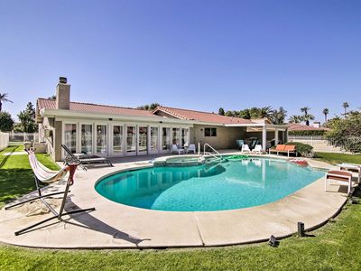 Photo for NEW! Indio Home w/  Private Pool - Walk to Polo!