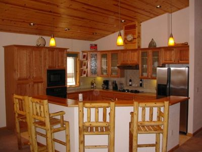 Photo for Amazing, Custom Built Rustic Cabin in Excellent Location