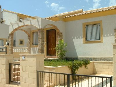 Photo for Detached two bedroomed holiday villa sleeping four
