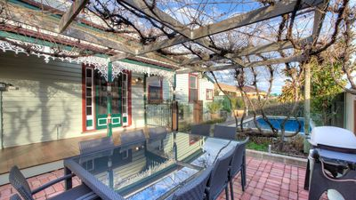 Photo for Central Charm - 4 bedrooms, Heated Pool, Free Wifi and Pet Friendly