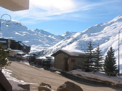 Photo for Apartment on the slopes of the station menuires near all amenities