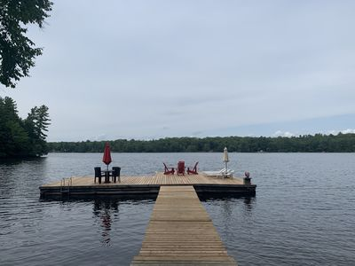 Spectacular Private Cottage with 480 feet water frontage!