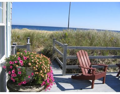 Photo for Cape Cod - Ocean Front - Private Beach -  Family-friendly - Classic