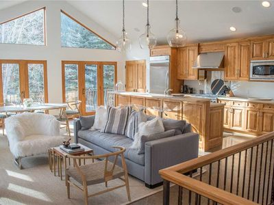 Photo for Four Seasons Home: Beautiful Private Home in Warm Springs, Sleeps 6