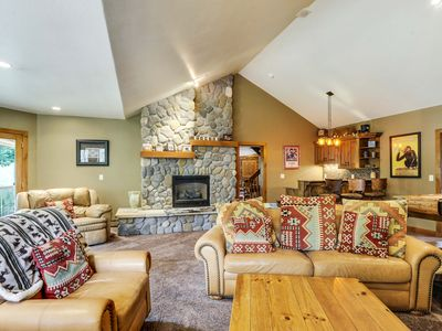Photo for Winterwoods Cabin by WPLCo | Mtn Modern Cabin | Near Resort | 2 Lounge Areas