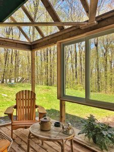 Photo for Cozy House East Ottawa with Sunroom private forest view