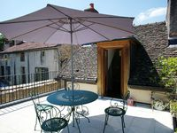 The property was cosy but with space for what we needed, and the roof terrace was beautiful