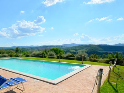 Photo for Well-kept holiday home in rustic style with large garden and private pool