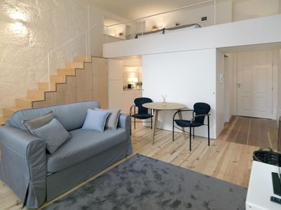 Photo for Modern Silveira apartment in Sé with WiFi.
