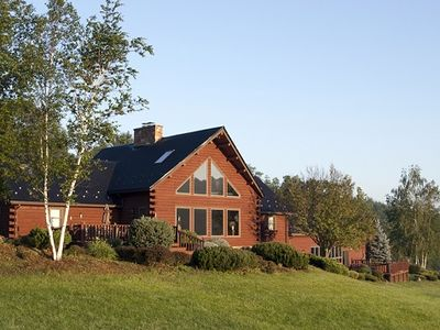 """Year round vacation resort at """"The Brown House"""" with indoor pool and hot tub"""