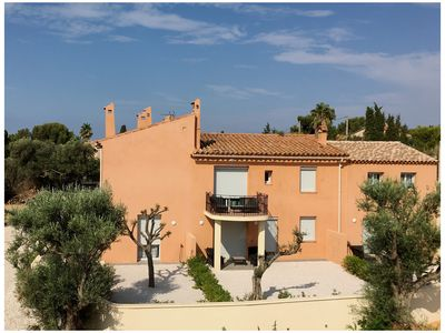Photo for Bastide tastefully renovated, 50 m from the beach of Capelan. Shops nearby.