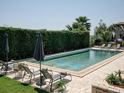 Photo for Luxury Blue Villa with Guest Studio