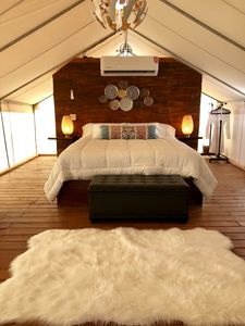 Photo for Glamping meaning enjoy nature in a comfortable way