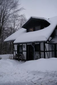Photo for Winterberg, quiet, comfortable 4 person holiday home in the ski village Neuastenberg
