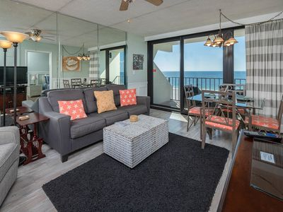 Photo for Popular 5th Floor Island Winds East 2 Bedroom…BEACH FRONT!