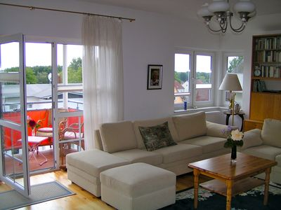 Photo for beautiful bright beach front apartment, 300m from the beach