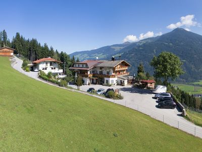 Photo for Generous group house in a beautiful view from above of Ried im Zillertal