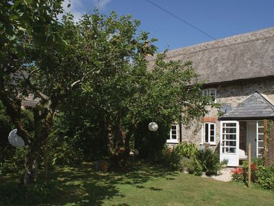 Photo for BROOK COTTAGE, romantic, with open fire in Dalwood, Ref 976027