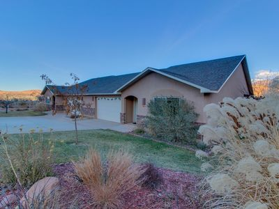 Photo for Dog-friendly home w/ shared seasonal pool, hot tubs - close to parks & golf