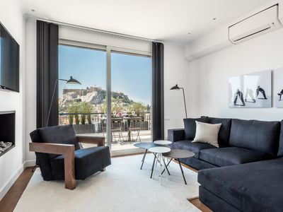 Photo for Executive 2 Bedroom Suite in Plaka with Acropolis view