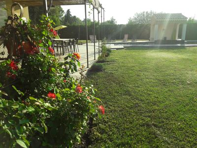 Photo for SPECIAL OFFER from 20/07 to 03/08. Beautiful Bastide 400 m2 near Isle Sur La Sorgue.