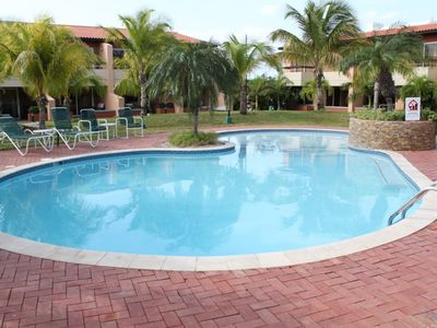 Photo for Private condo with direct pool access, newly renovated!
