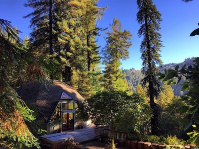 Photo for *NEW LISTING* Redwood Dome Retreat | Views, Privacy, Hot Tub
