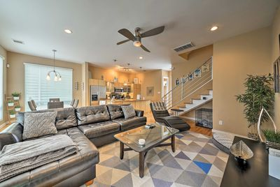 Explore Houston from this high-end 2-bedroom, 2.5-bath vacation rental townhome!