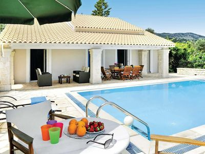 Photo for 3 bedroom Villa, sleeps 6 in Lithiasménos with Pool, Air Con and WiFi