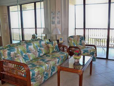 Photo for Beachfront - Two Bedroom with Gorgeous Gulf Views!