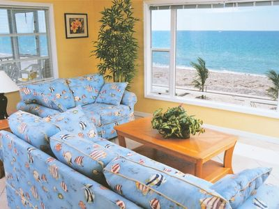 Photo for Fabulous BEACHFRONT! Walk to restaurants/state park!  No cleaning fee.