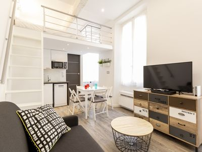 Photo for Functional modern studio in the heart of the historical district of Antibes