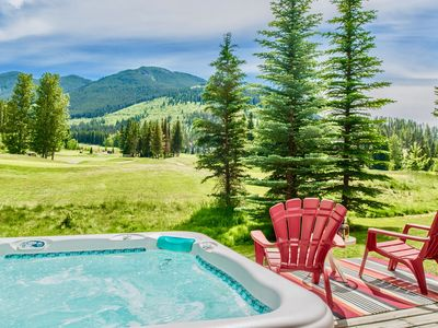 Photo for We've Got It All! Ski-In/Out, Golf Course Views, Sleeps 10 & Private Hot Tub!