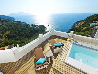 Photo for Villa Recently Renovated with Amazing Sea View