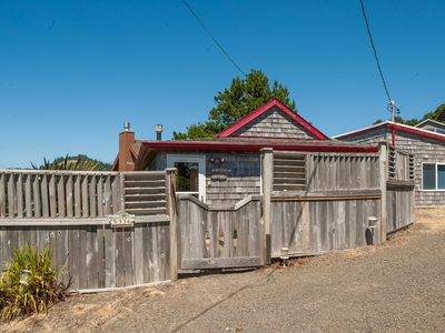 Photo for Birds Eye Beach House in Road's End- Experience this Cottage with Ocean View!