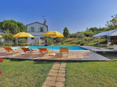 Photo for VILLA LA CAPUCCINA- Private villa, pool, beach 20 km, wi-fi, air conditioning