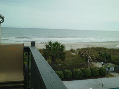 Photo for Surfside Beach 2 BR Ocean Front/view, also have 3BR next door- see vrbo #64347