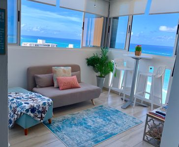 Photo for Beach Apartment in San Juan. Where the Ocean Roars is the music to the soul!